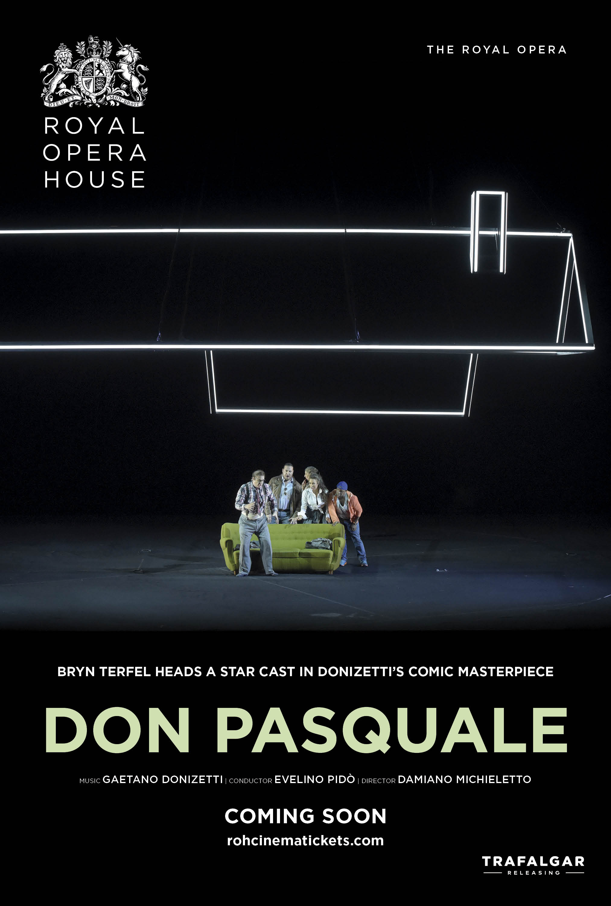 The Royal Opera House: Don Pasquale Poster